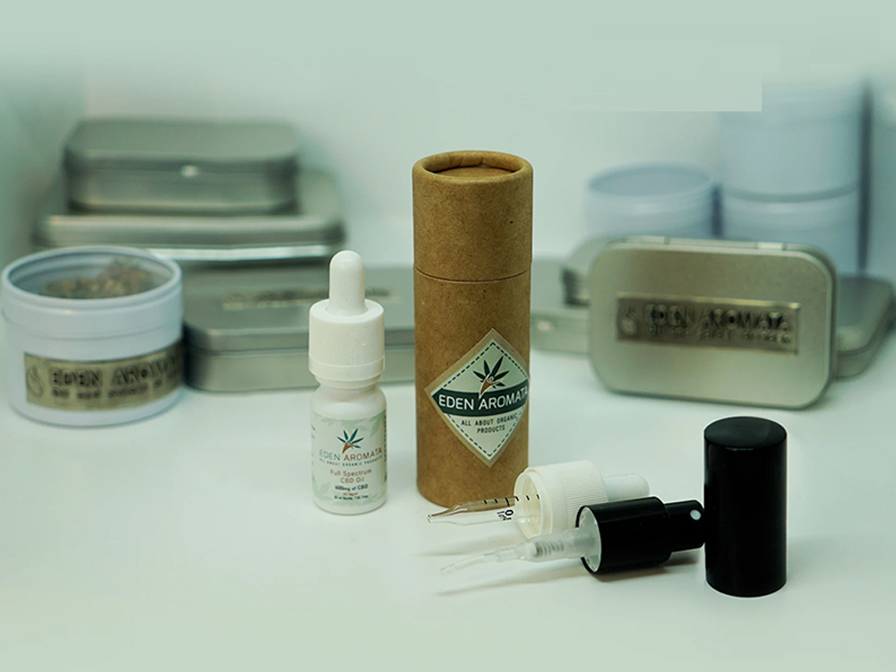 Organiskt hampextrakt CBD-olja med full spektrum 6% 10 ml