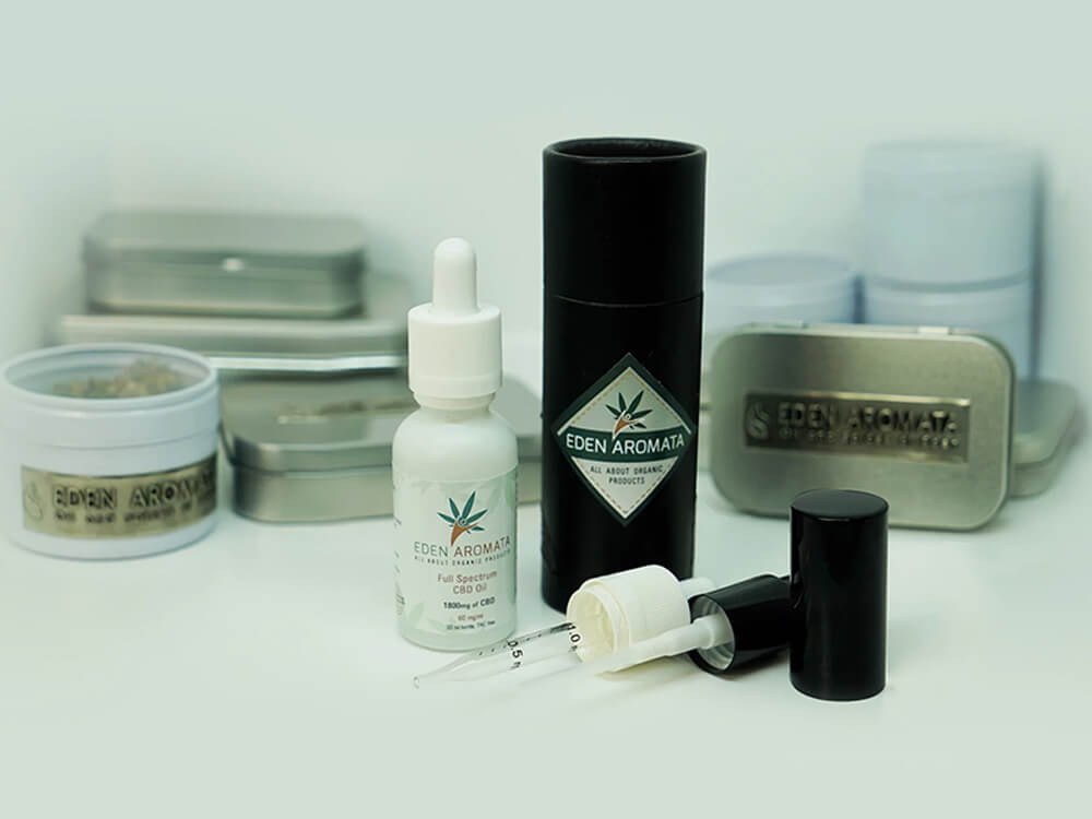 Organiskt hampextrakt CBD-olja med full spektrum 6% 30 ml